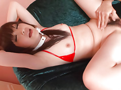 Asuka Mimi  bound and gagged for her boyfriends naughty pleasuresvideo
