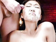 Cum craving Akina Nakahara gets fucked and cummedvideo