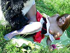 Red Riding Hood fucked outdoorsvideo