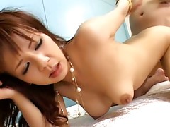 Extremely hard japanese anal fucking session that's like a christmas present for any fun of kinky Rin Yuuki. We've got out favourite av idol fucked in her bottom hard enough to make her moan for whole time of video. Moaning loud enough to make you cum very freaking fast and get idea inside your mind to give it another and then one more try!video